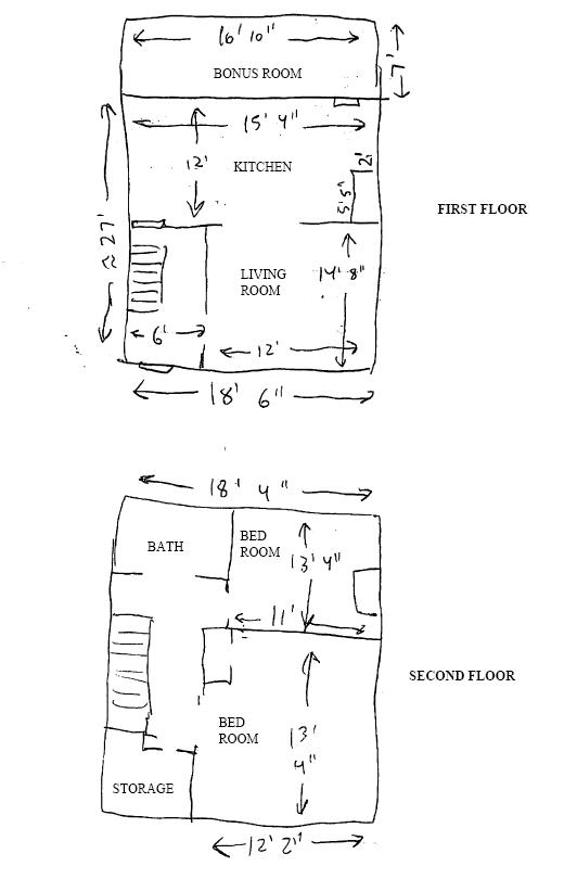 845rent Apartment Layout